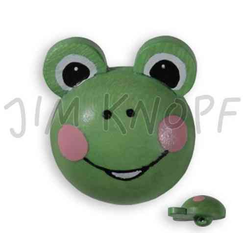 Jim Knopf Holzknopf Frosch