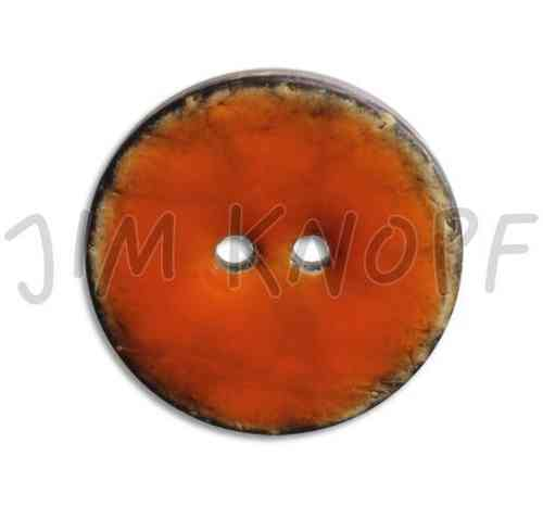 Jim Knopf bouton en coco 08 orange 31mm