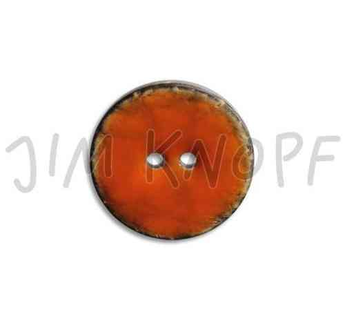 Jim Knopf bouton en coco 08 orange 08 23mm