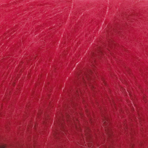 DROPS Brushed Alpaca Silk 07, rot