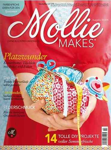 Mollie Makes 10/2014 - Sommerfrisches mit Mollie Makes