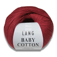 LANG YARNS BABY COTTON (écologique)