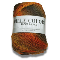 LANG MILLE COLORI SOCKS AND LACE