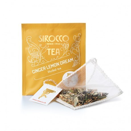 "Sirocco ""Ginger Lemon Dream"" Bio-Kräutertee (20 Teesachets)"