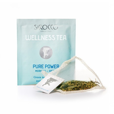 "Sirocco ""DETOX - Wellness Tea Pure Power"" Bio-Grüntee mit Mate (20 Teesachets)"