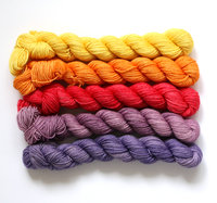 Sidispinnt  Merino Twist
