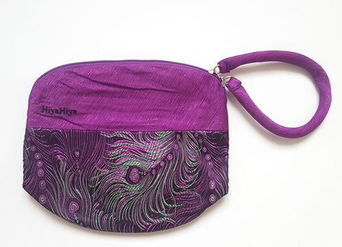 HiyaHiya Project Bag lila Federn