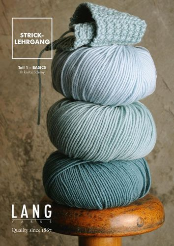 Stricklehrgang - Basics (en allemand)