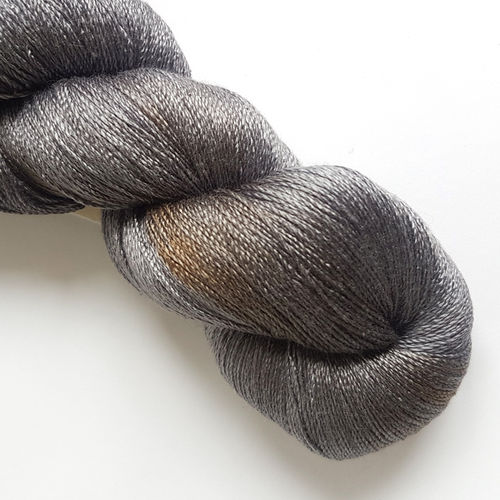 "Sidispinnt Soie Lace  ""Earl Grey"""