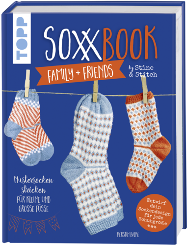 Kerstin Balke: SoxxBook family + friends by Stine & Stitch