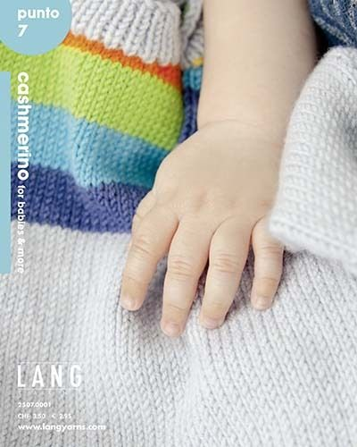 LANG Punto 7 CASHMERINO FOR BABIES AND MORE