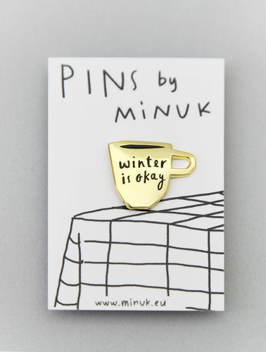MINUK Pin Winter is okay