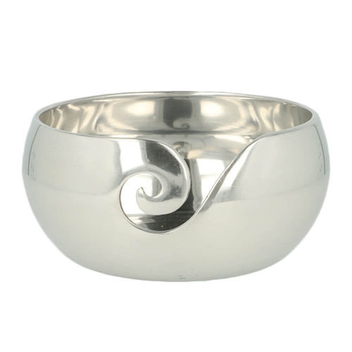 Metal Yarn Bowl silver
