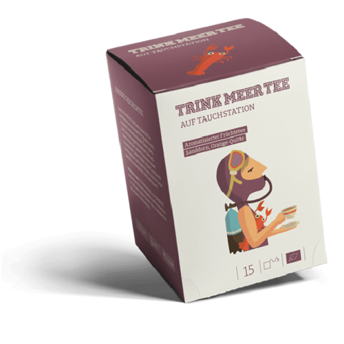 "Trink Meer Tee ""Auf Tauchstation"" (tisane aux fruits)"