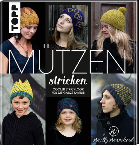Woolly Wormhead: Mützen stricken  (en allemand)