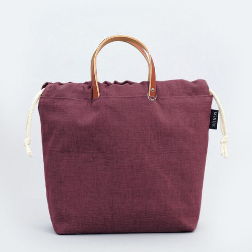 MINUK Project Bag Gr. M Pflaume