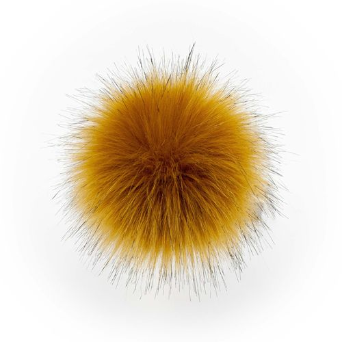 Aheadhunter Pompon Raccoon mustard