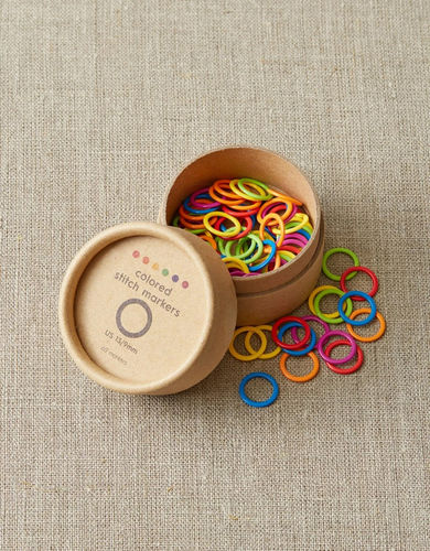 COCOKNITS Colored Ring Stitch Marker LARGE