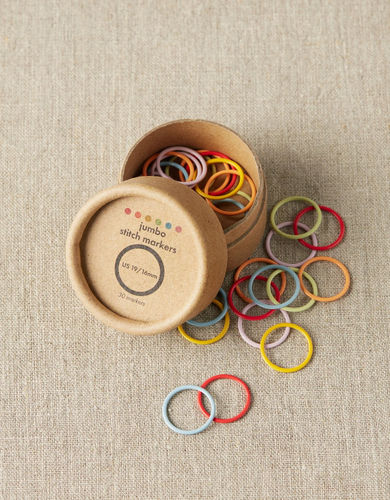 COCOKNITS Colored Ring Stitch Marker JUMBO
