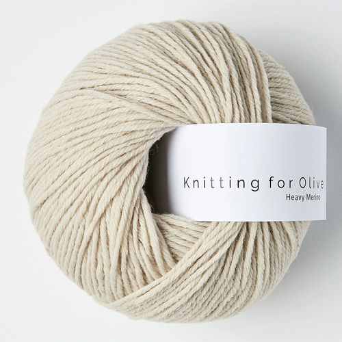 KNITTING FOR OLIVE Heavy Merino Marzipan
