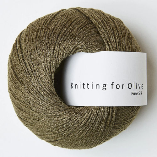 KNIKNITTING FOR OLIVE Pure Silk Olive