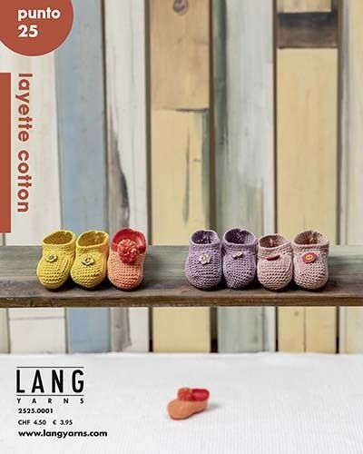 LANG Punto 25 LAYETTE COTTON
