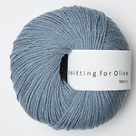 KNITTING FOR OLIVE Merino Dusty Dove Blue